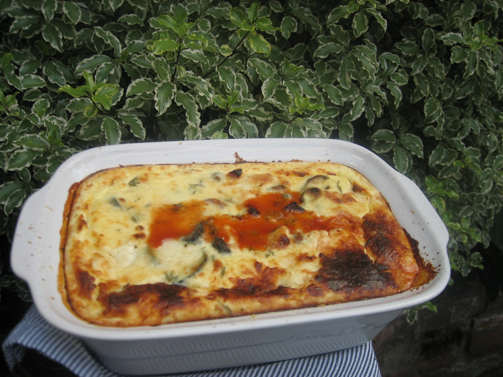 home recipes roasted vegetable moussaka ish roasted vegetable moussaka ...
