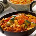 Dry Vegetable Curry with Coconut
