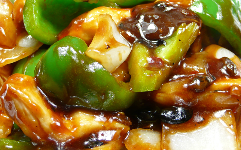 ... in black bean sauce chicken green pepper in black bean sauce