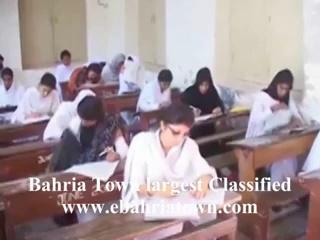 Girls Cheating In Exam hall in pakistan
