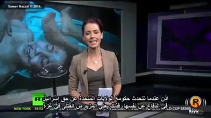 News Reporter exposes Israel on live television.