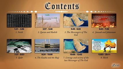 Abriged Chronological History of Islam
