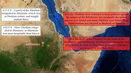 12 Oppression of the Muslims in Mecca, and migration to Abyssinia DAILYMOTION