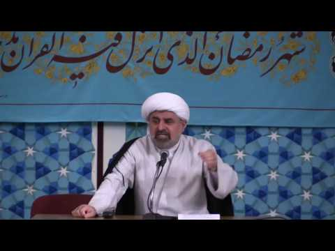 Lessons from the life story of the Prophets (2 Ramadhan 2016) - by Sheikh Bahmanpour - 08/06/2016